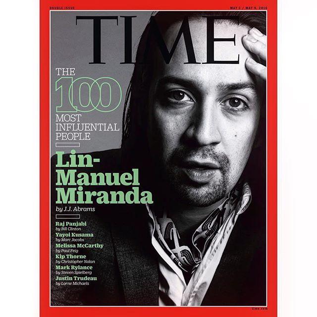 Lin-Manuel Miranda es uno de los pocos puertorriqueños que ha engalanado la portada de la revista Time. (archivo Fundación Nacional para la Cultura Popular)