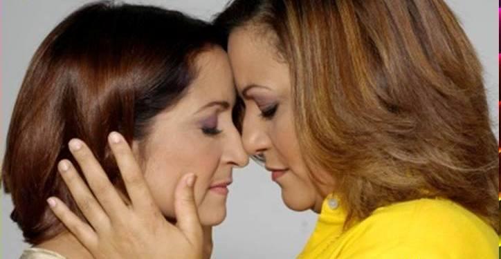 Blanca Lissette Cruz y Maribel Quiñones protagonizan la obra de Gabriel Ott en el XI Festival Del Tercer Amor. (Foto suministrada