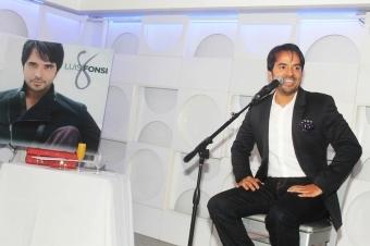 """En """"8"""", Luis Fonsi grabó una bachata con Juan Luis Guerra. (Foto Edgar Torres para Fundación Nacional para la Cultura Popular)"""