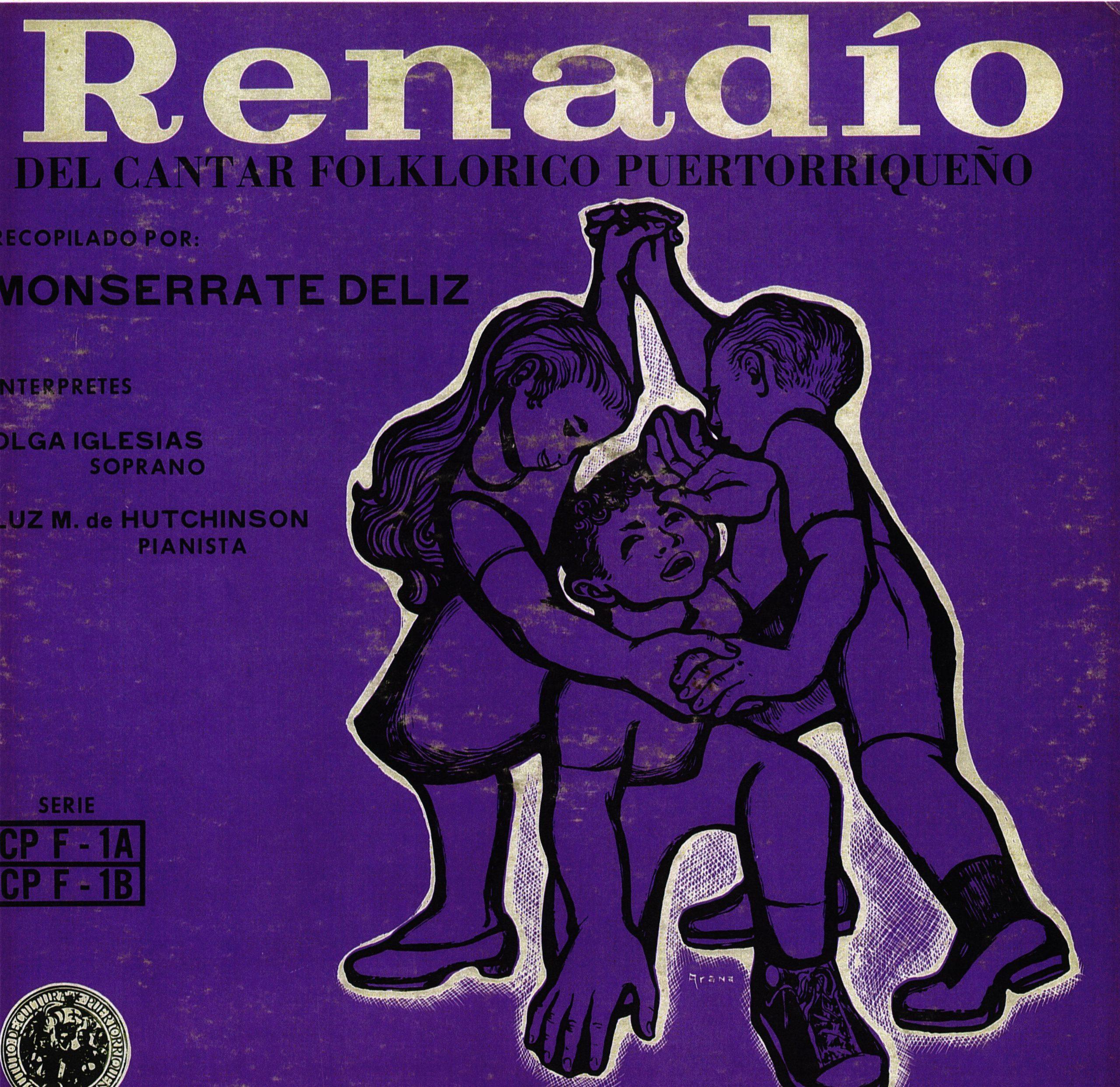 """""""Renadío del cntar folklórico puertorriqueño"""", recopilado por Monserrate Deliz, forma parte del importante catálogo."""