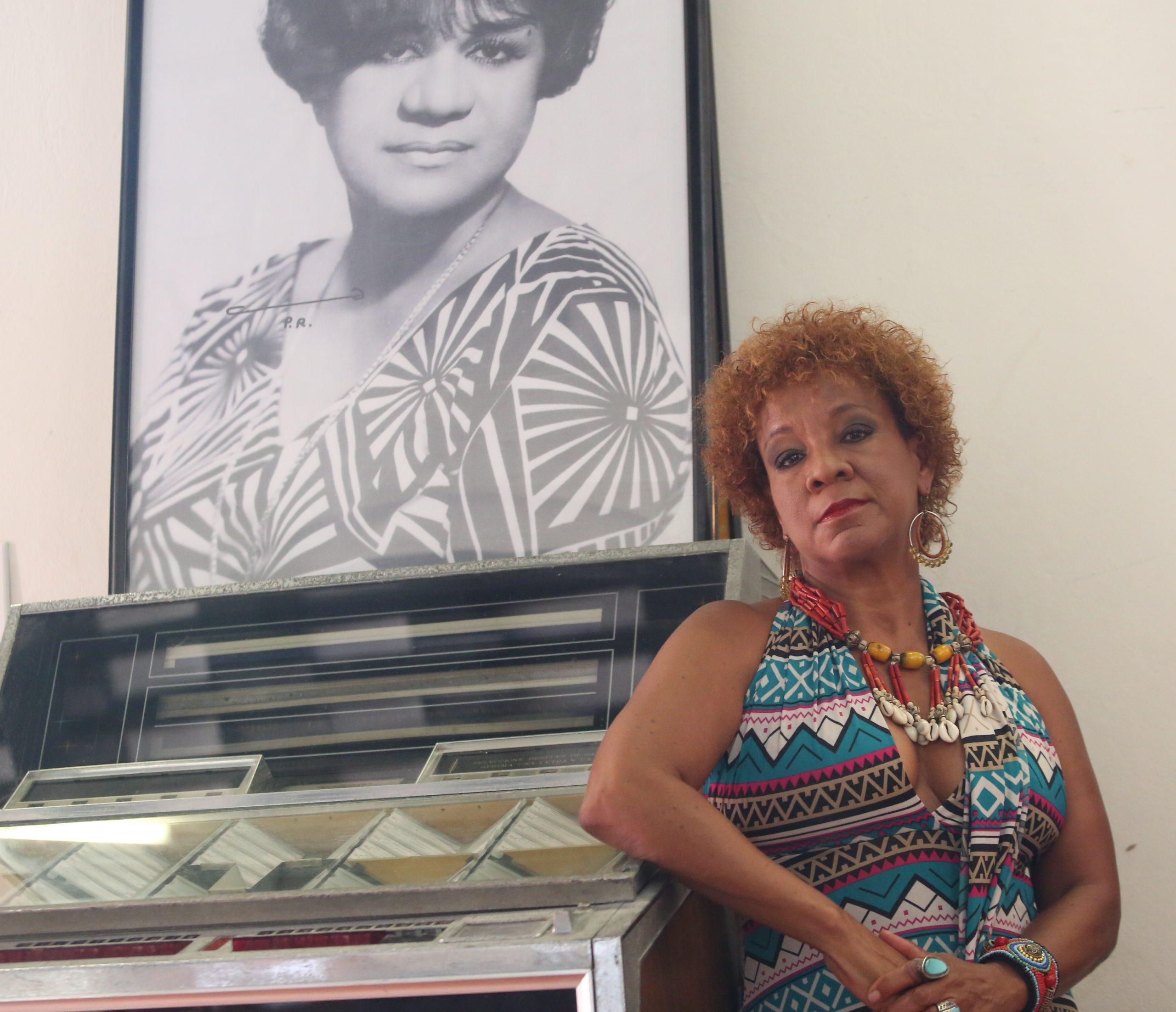 """La cantante quiere llevar su homenaje al disco. (Foto Félix Ayala """"Guayciba"""" para Fundación Nacional para la Cultura Popular)"""