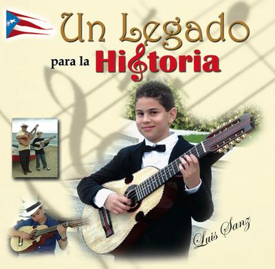Carátula de la primera producción discográfica de Luis Sanz, la cual contó con el apoyo del maestro Ocasio. (archivo Fundación Nacional para la Cultura Popular)