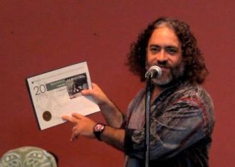 Furito Ríos agradeció el reconocimiento a su trabajo musical. (Foto Iván O. Ortiz / para Fundación Nacional para la Cultura Popular)