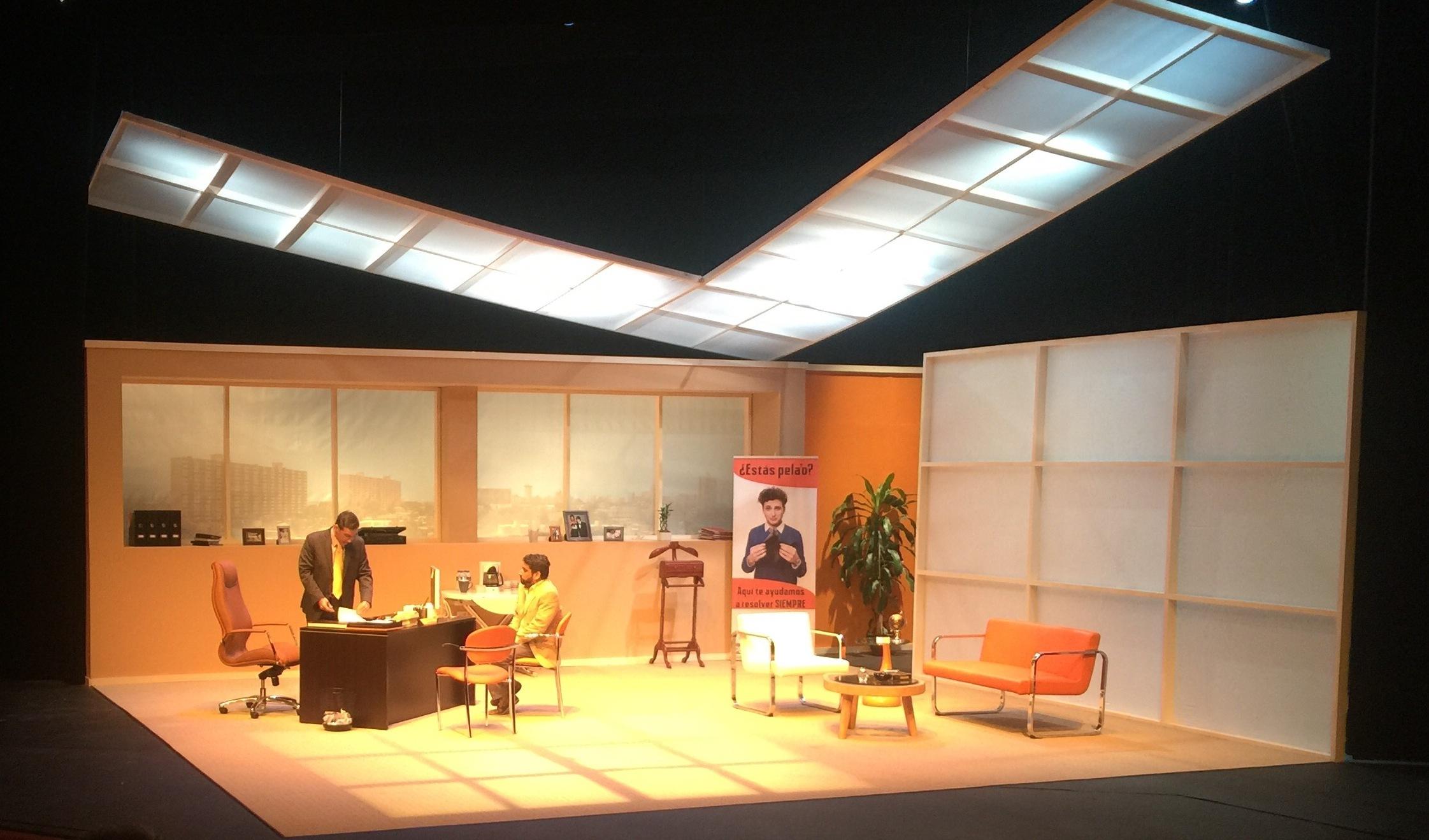 La escenografía de Gregorio complementó el ambiente necesari para la trama. (Foto Alina Marrero para Fundación Nacional para la Cultura Popular)