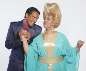 """En el musical """"Haispray"""" Ektor Rivera compartió estelares con la actriz y cantante Aidita Encarnación. (foto suministrada)"""