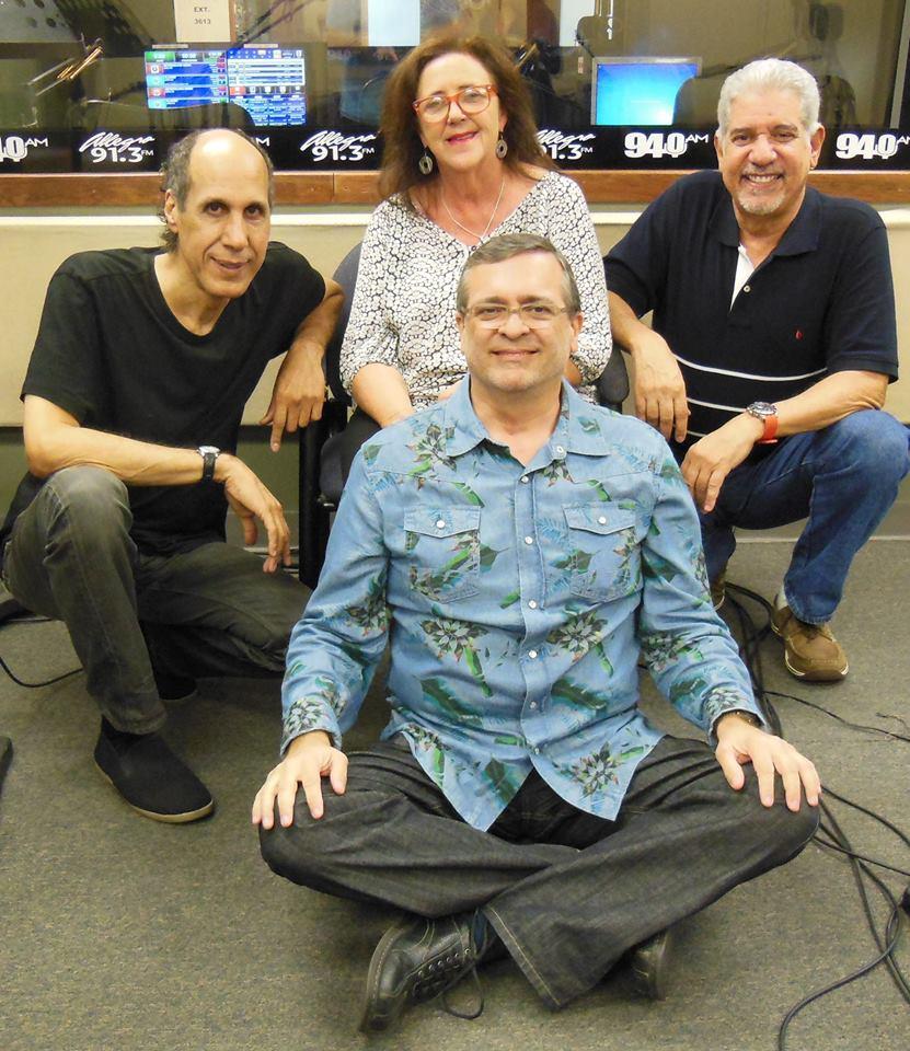 "O'Brasil fue invitado al programa ""Brasil musical"" que conduce Naphis Torres. (Foto suministrada)"
