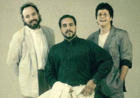 Aníbal Ayala en 1986 con Absurdo Urbano. (Foto suministrada)