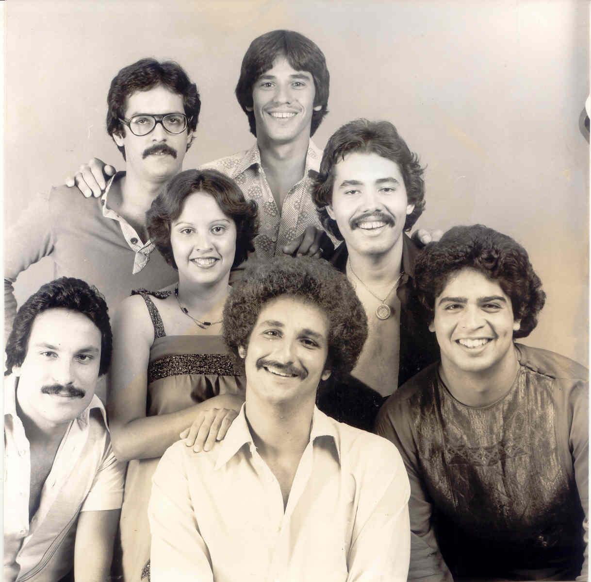 Amaury López, en sus días con el grupo Raíces. en ocasión de celebrar un concierto con Alberto Carrión y Glenn Monroig. (Foto suministrada)