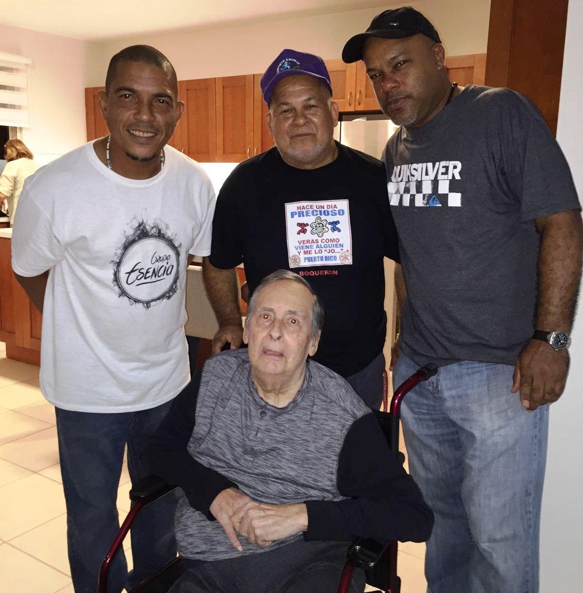 El inolvidable cantante Ismael Quintana (q.e.p.d.) también ha estado entre los homenajeados. (Foto suministrada)