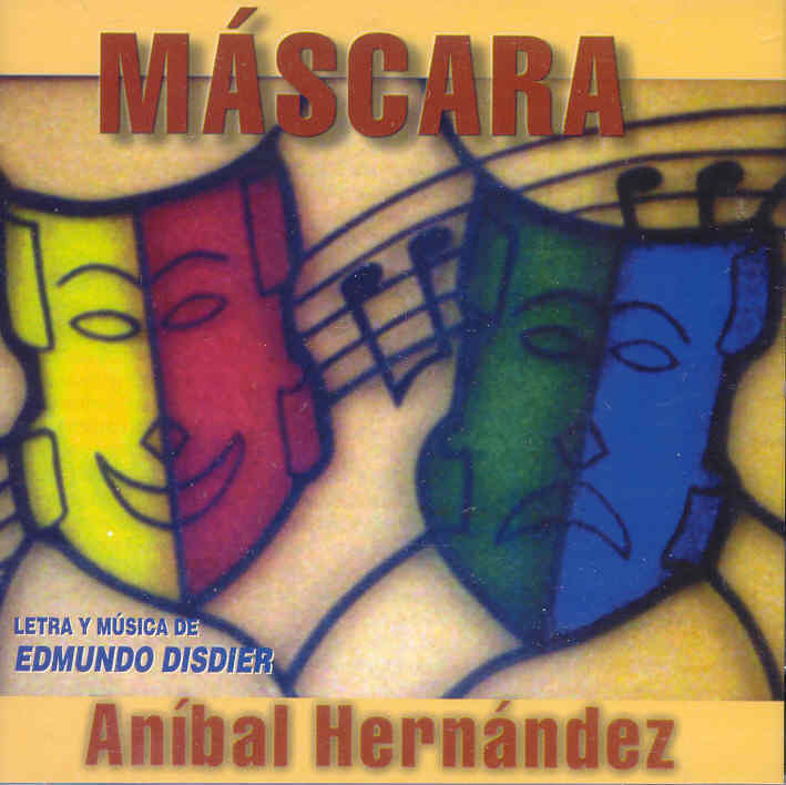 """Aníbal Hernández puso voz a la producción """"Máscara"""" dedicada a la obra de Edmundo Disdier. (archivo Fundación Nacional para la Cultura Popular)"""
