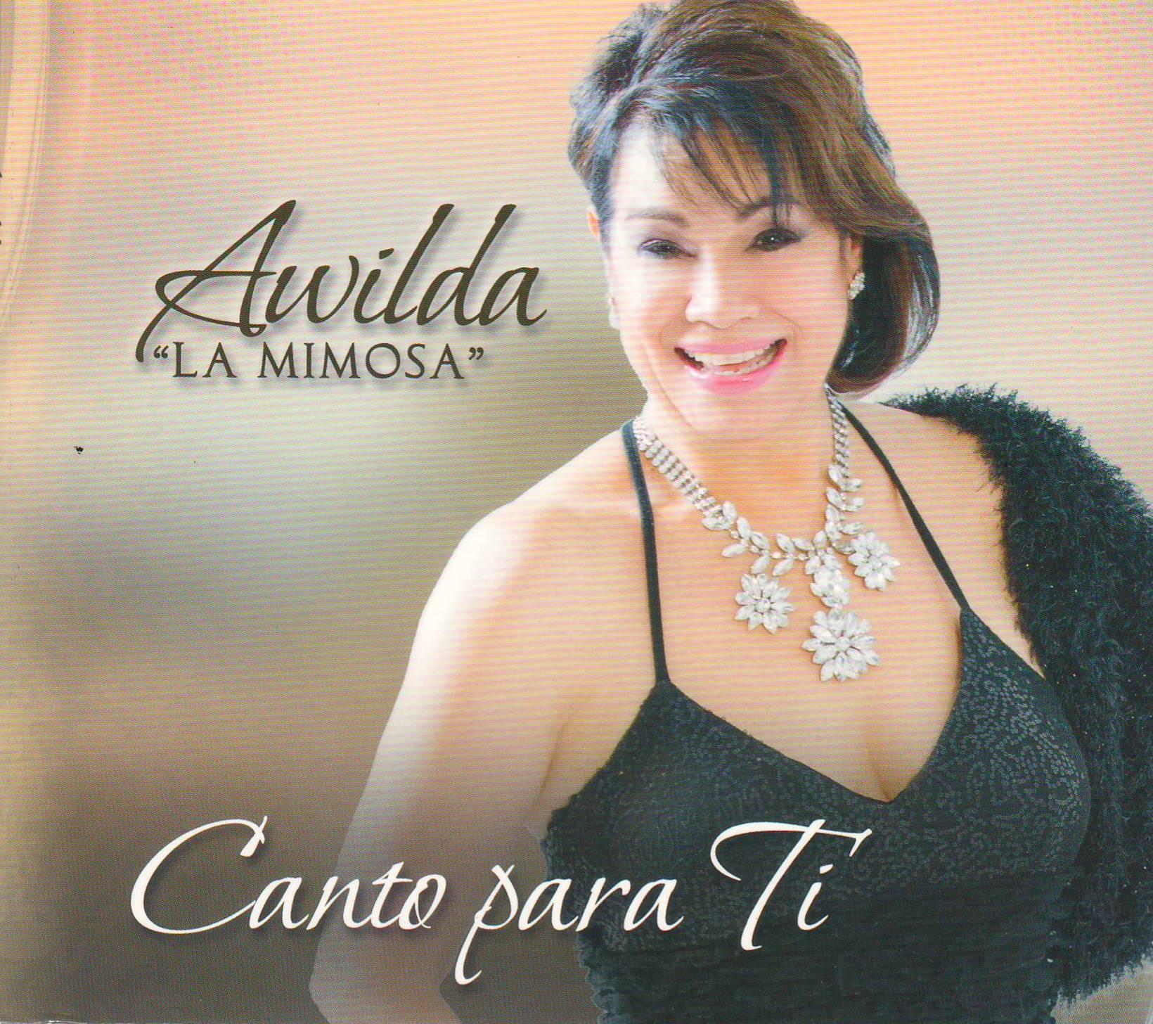 Carátula de la nueva producción de Awilda Pedroza. (archivo Fundación Nacional para la Cuktura Popular)