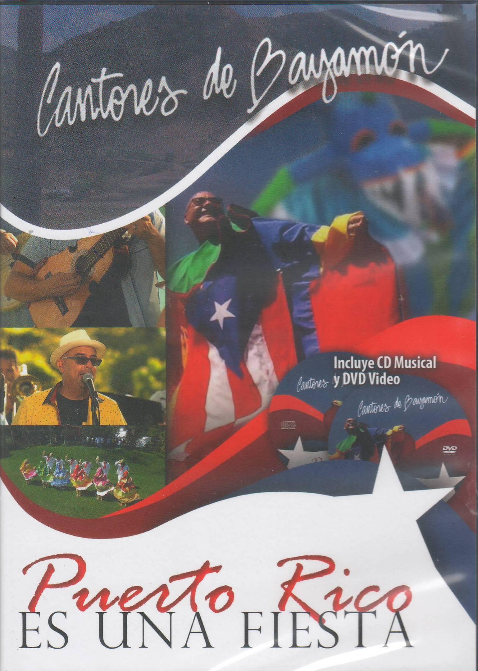 Carátula del cd/dvd de Cantores de Bayamón para 2016. (archivo Fundación Nacional para la Cultura Popular)