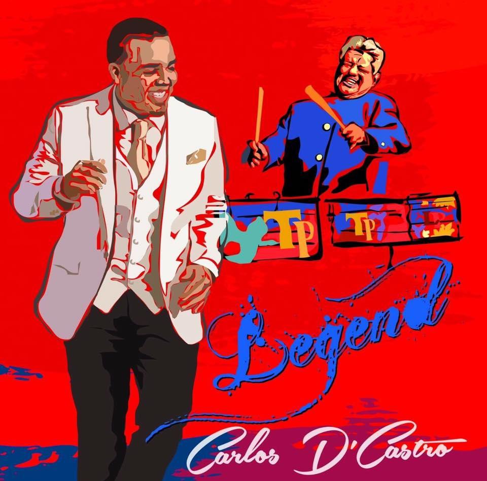 Carátula de la nueva propuesta discogr;áfica de Carlos D' Castro.