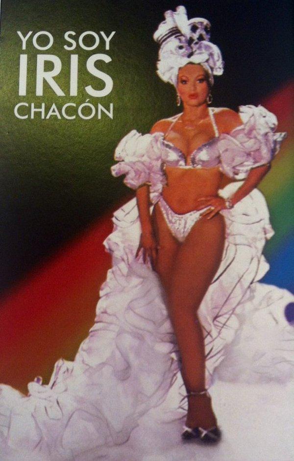 Portada de la autobiogtrafía escrita por Iris Chacón.