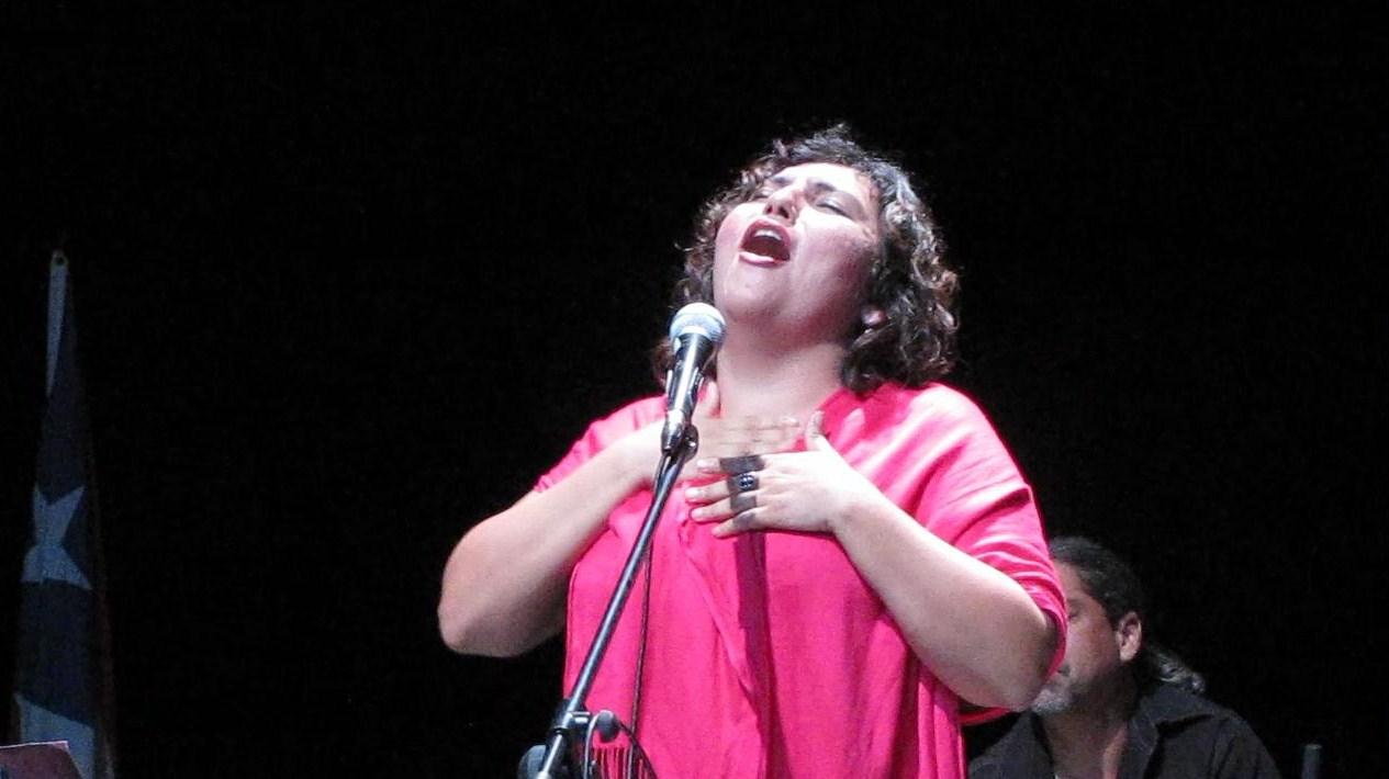 Chabela Rodríguez se unirá a las voces que cantarán por la libertad de Oscar. (Foto Javier Santiago / Fundación Nacional para la Cultura Popular)