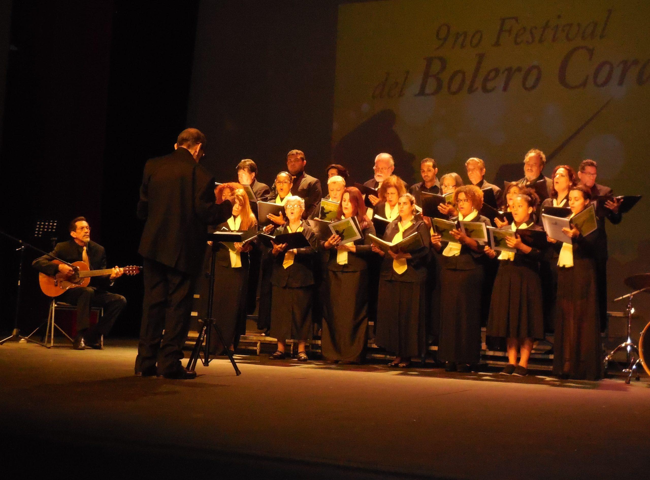 El Coro Interamericana Metro, fundado en 1961, fue dirigido por el maestro Luis Olivieri. (Foto Gabriela Ortiz para Fundación Nacional para la Cultura Popular)