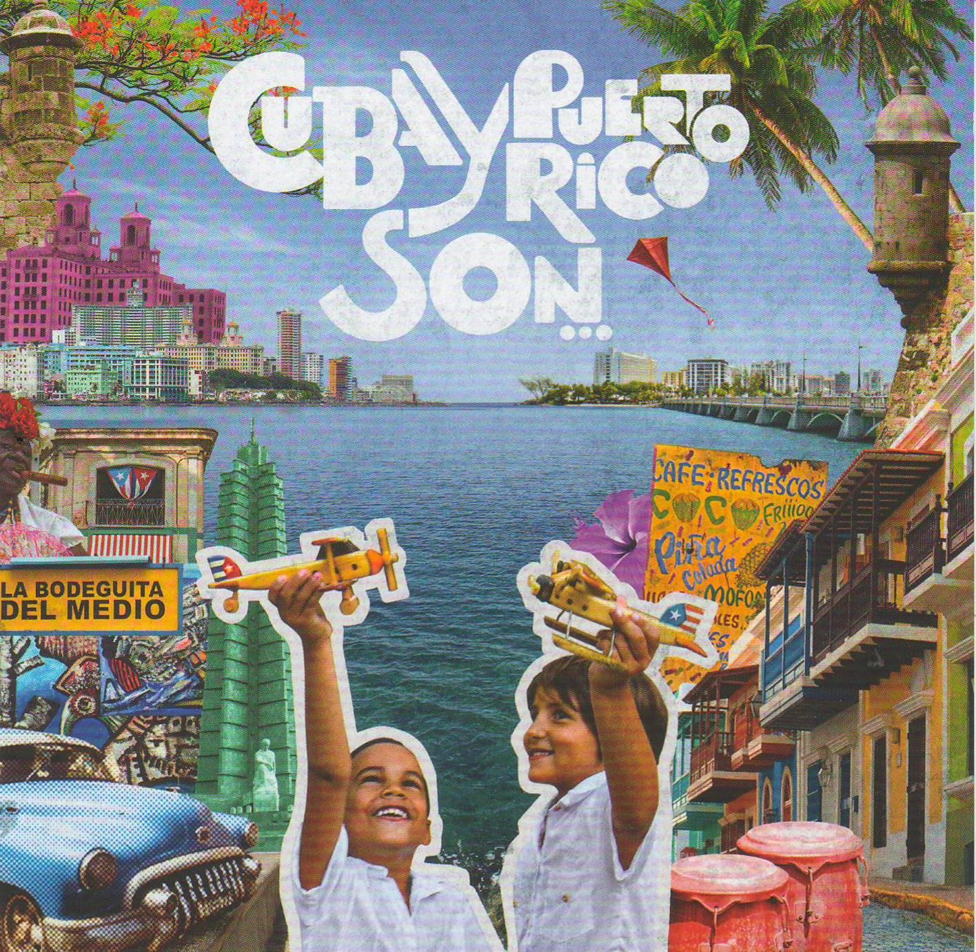 """Carátula del disco compacto de la nueva propuesta musical """"Cuba y Puerto Rico son..."""""""