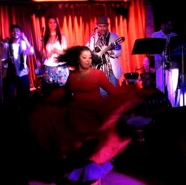 La bomba con rumba flamenca brilló en el repertorio de Fusión Jonda. (Foto Javier Santiago / Fundación Nacional para la Cultura Popular)
