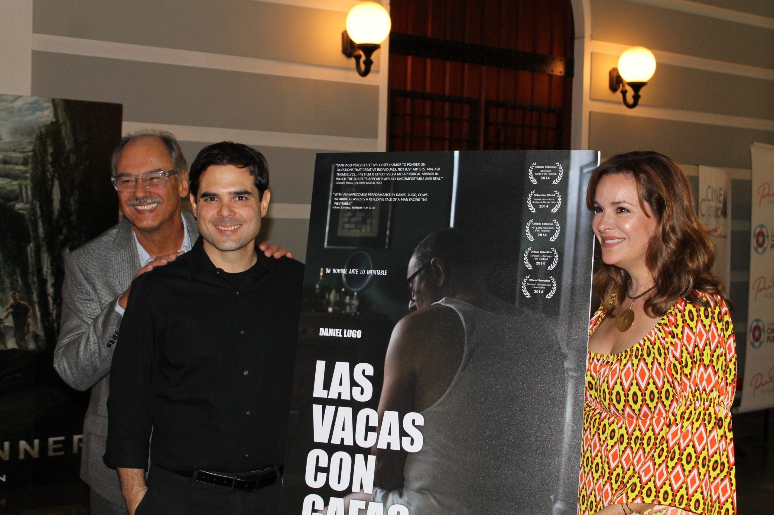 Daniel Lugo escogió actuar en la ópera prima del cineasta Alex Santiago Pérez por la trama que desarrolla el guión. (Foto Edgar Torres para Fundación Nacional para la Cultura Popular)