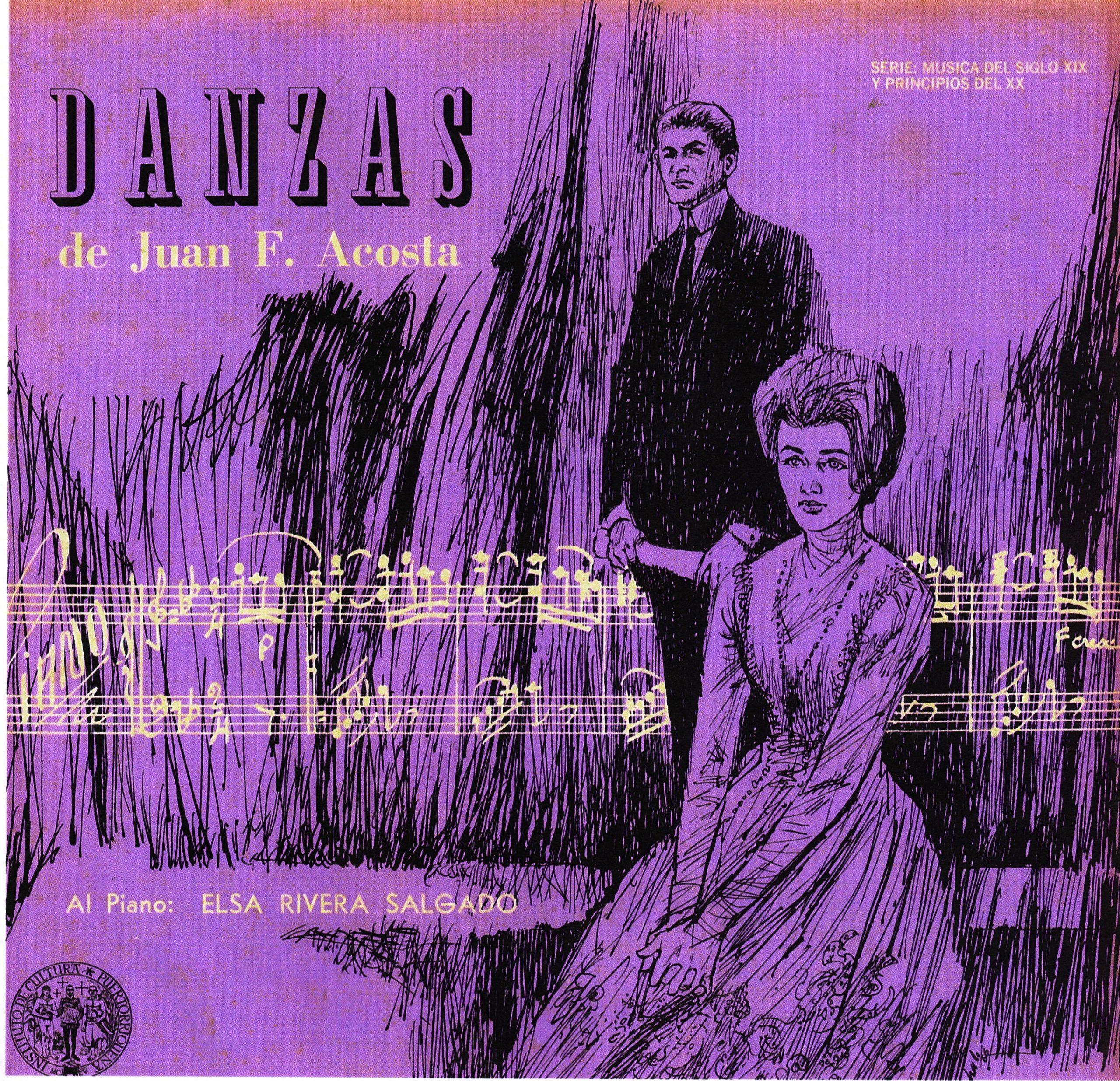 Las danzas de Juan F. Acosta, interpretadas al piano por Elsa Rivera Salgado, forman parte del escogido digitalizado.