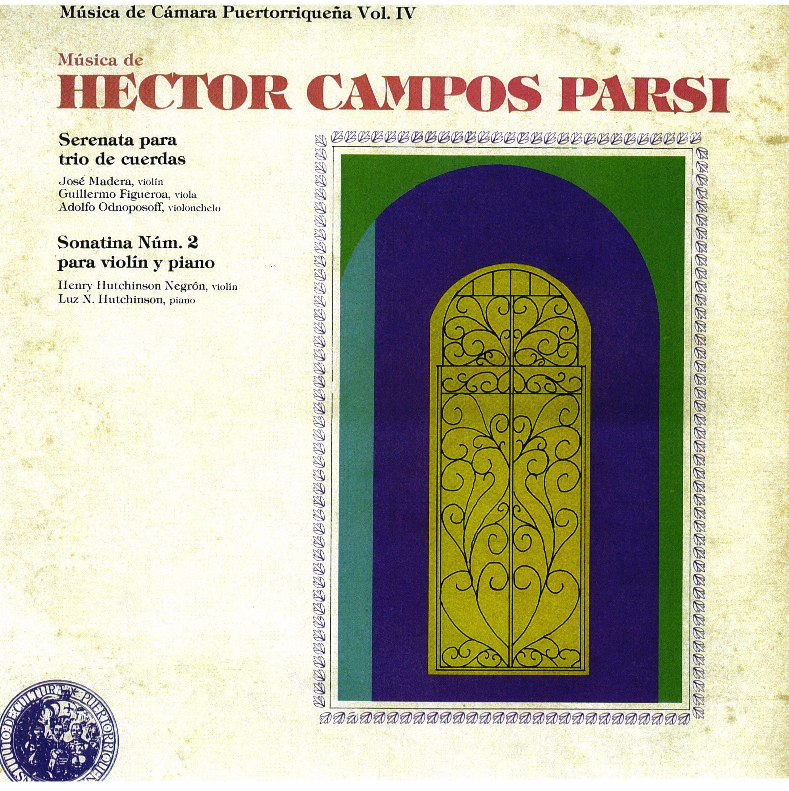 Parte del legado de don Héctor Campos Parsi se encuentra en la selección digitalizada por el ICP.