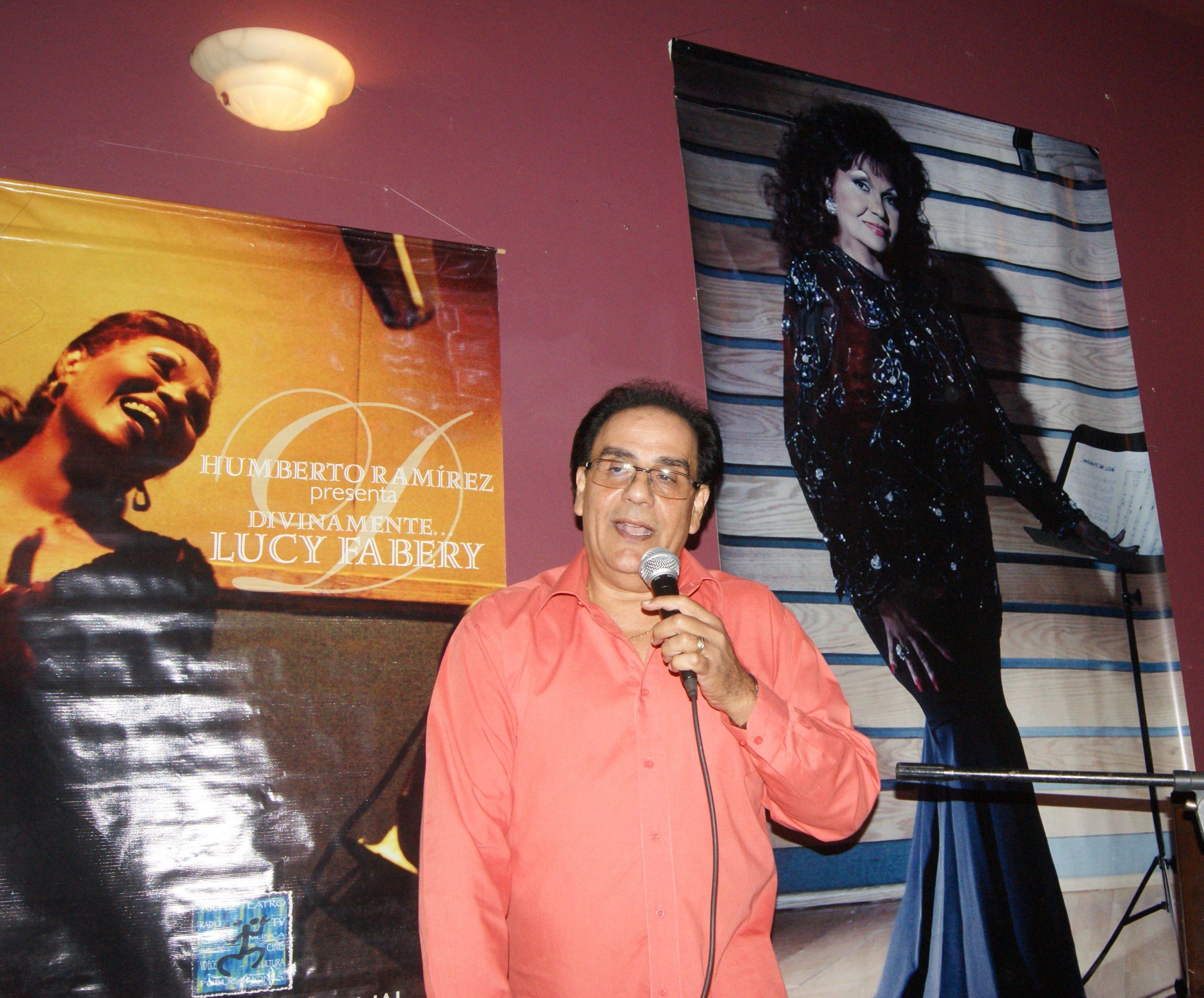 Edgardo Huertas rememoró cómo la artista siempre se dio su lugar. (Foto Luis Ernesto Berríos para Fundación Nacional para la Cultura Popular)