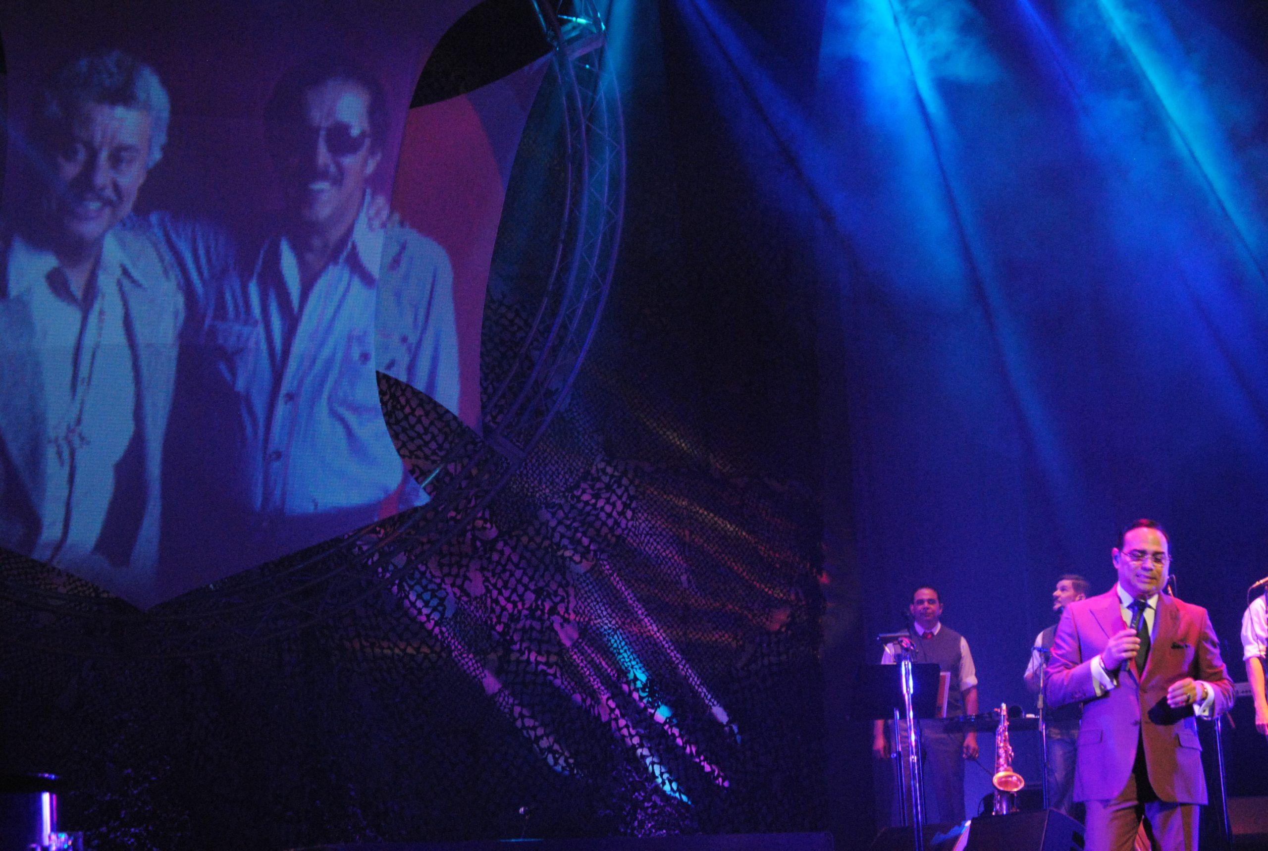 El salsero recordó a Santitos Colón. (Foto Jaime Torres Torres para Fundación Nacional para la Cultura Popular)