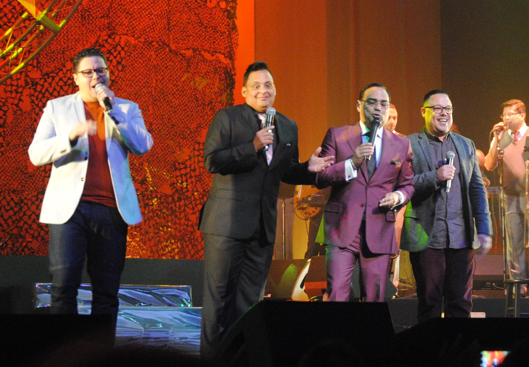 LimiT XXI fueron invitados de Gilberto en el concierto. (Foto Jaime Torres Torres para Fundación Nacional para la Cultura Popular)