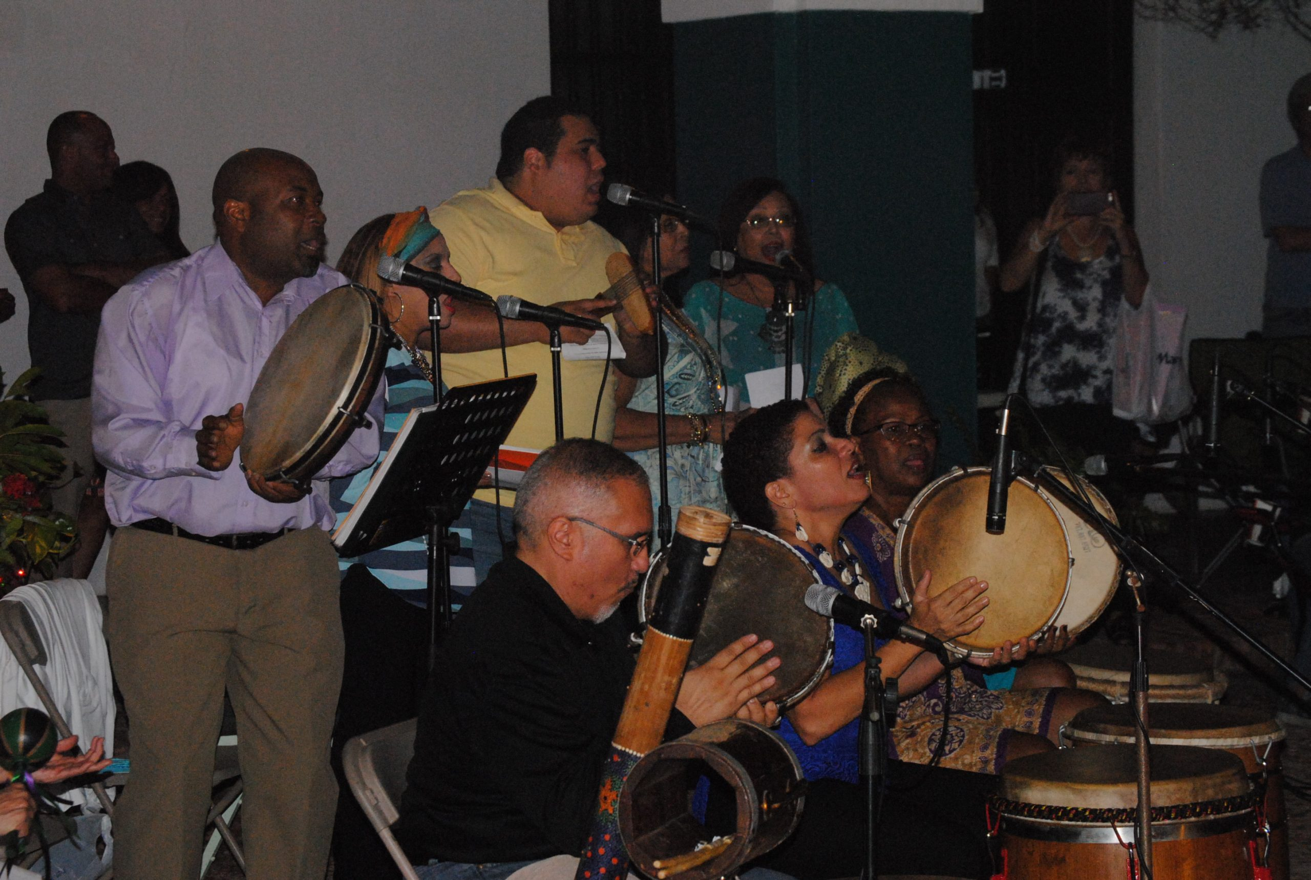Los músicos fueron dirigidos por John Rivera. (Foto Jaime Torres Torres para Fundación Nacional para la Cyltura Popular)