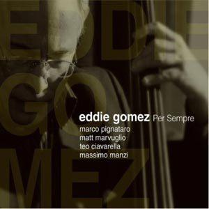 """Eddie Gómez grabó su producción """"Per sempre"""" en Italia."""