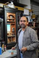 Edwin Báez Carrasquillo ha sido designado Artista Residente por la Universidad del Turabo. (Foto suministrada)
