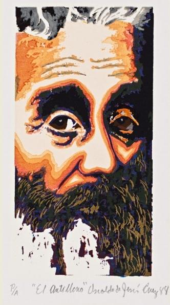 """""""El Antillano"""" es una de las obras del artista arecibeño creada en 1988."""