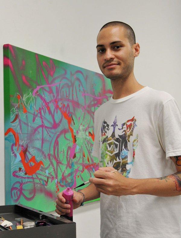 El artista urbano Philip Cruz Villegas, alias Pun 18, falleció el pasado mes de enero. (Foto suministrada)