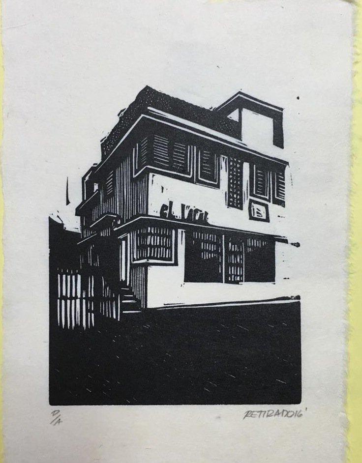 El artista Yiyo Tirado creó la portada del libro. (Foto suministrada)
