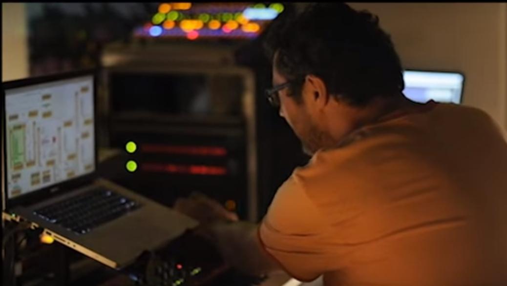 El Colectivo de Electrónica Isleña tiene a su haber las realizaciones de bandas sonoras para películas y documentales. (Foto captura de pantalla vídeo Wrong)