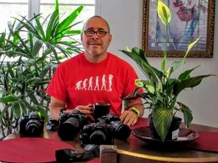 El fotógrafo paisajista Edgardo Torres Rosa se dedica a documentar en imágenes las bellezas naturales de Luquillo. (Foto suministrada)