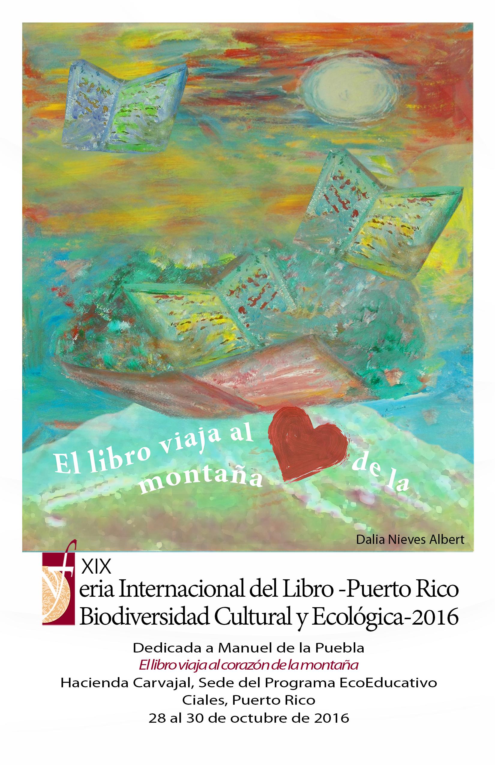cartel promocional de la Feria del Libro para 2016. (Foto suministrada)