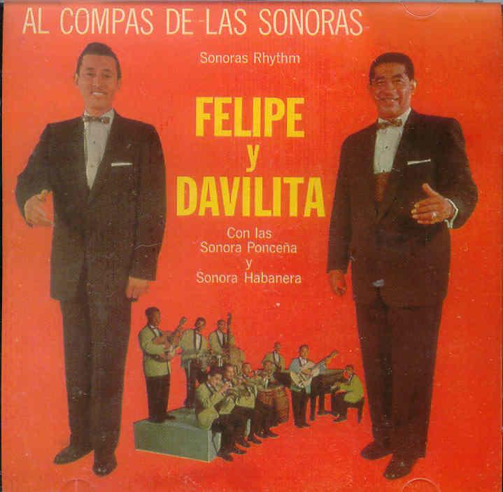 """A finales de la década de 1950 grabaron con Felipe Rodríguez y Davilita la producción """"Al compás de las Sonoras"""". (archivo Fundación Nacional para la Cultura Popular)"""