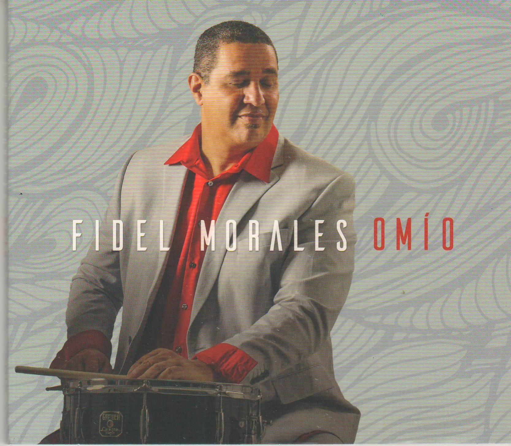 Carátula de la producción discogr;afica de Fidel Morales. (archivo Fundación Nacional para la Cultura Popular)
