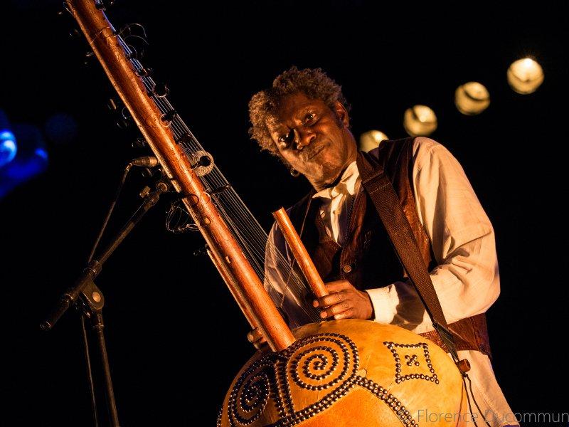 Abdou Mboup de Africa participó como invitado en el Fesival de jazz y world music. (Foto suministrada)