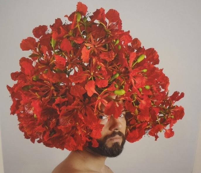 'El flamboyán', de Zuania Muñiz. (Foto Adriana Pantoja)