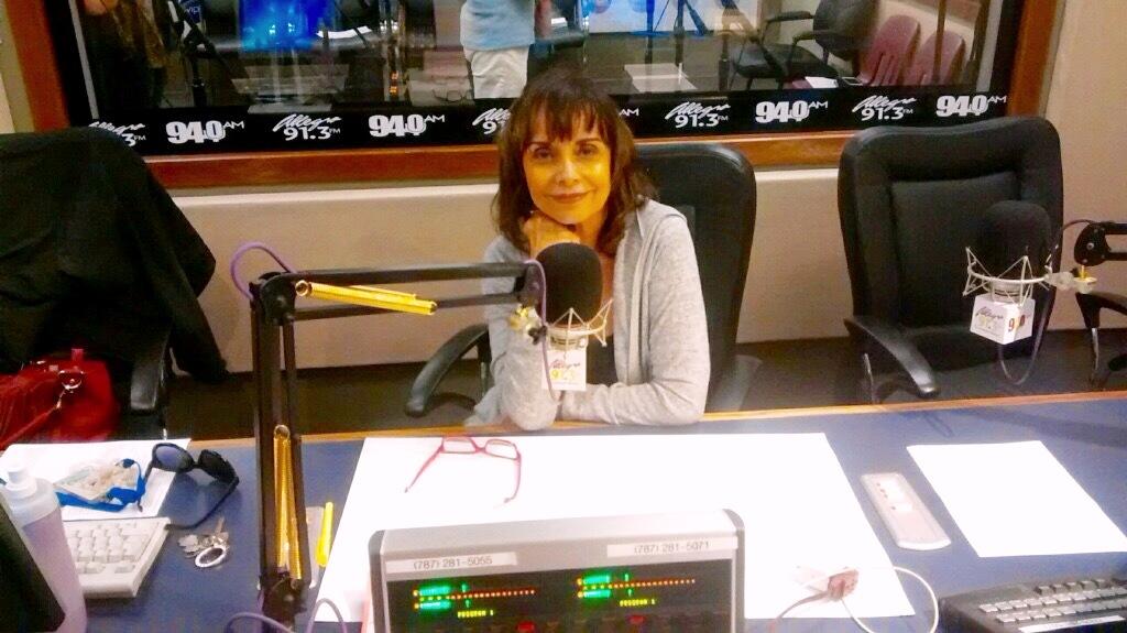 Nelly Jo9 se integró al programa de la emisora educativa en 2011. (Foto suministrada)