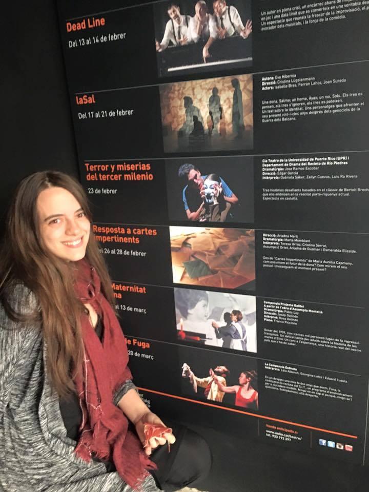 Gabriela Saker es estudiante avanzada del Departamento de Drama de la UPR-RP. (Foto suministrada)