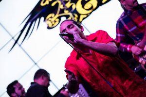 Gerry Pomales, uno de los fundadores de la banda durante la actividad del celebración del 3er aniversario. (Foto suministrada)