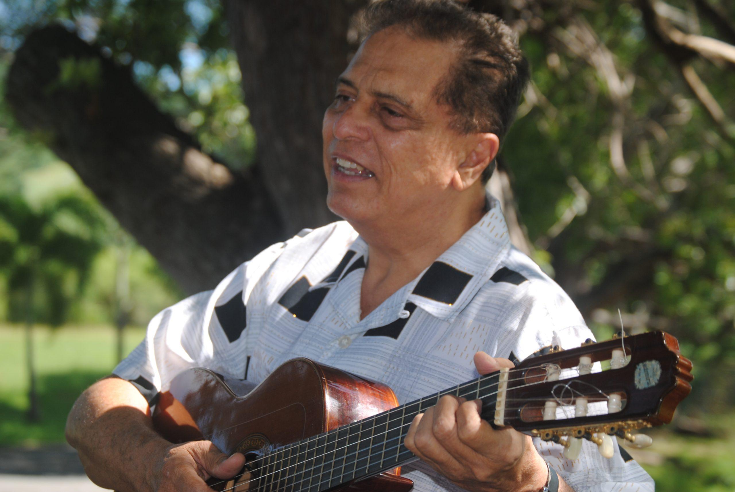 El cantautor lamenta el alto grado de politización que atraviesa el País. (Foto Jaime Torres Torres para Fundación Nacional para la Cultura Popular)