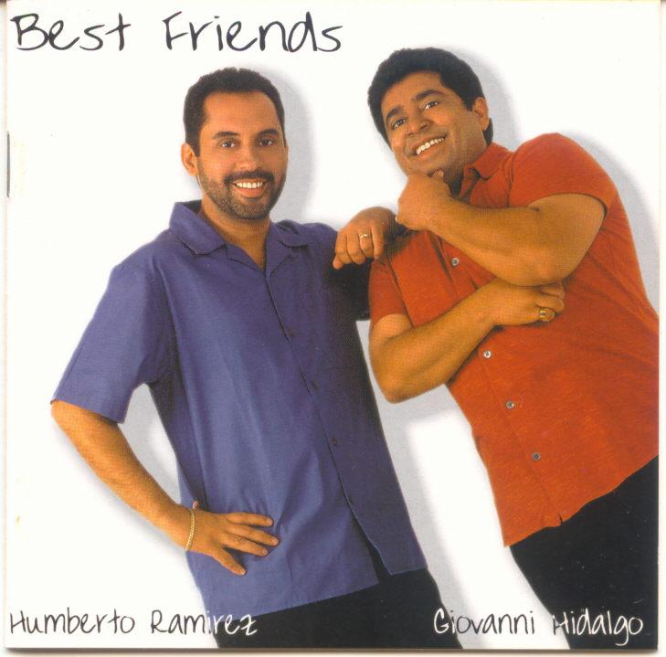 """Con su amigo de la infancia, Humberto Ramírez, editó el clásico discografico """"Best Friends"""". (archivo Fundación Nacional para la Cultura Popular)"""