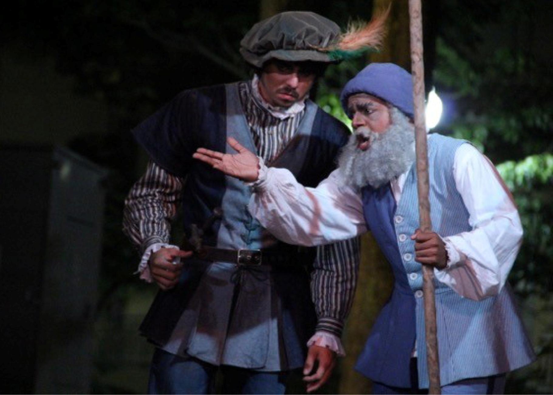 "Jonathan junto a Hythem Esiely Barrera en ""Avuestro gusto"" en 2011. (Foto suministrada)"
