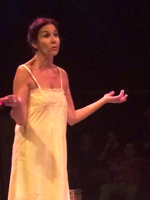 Marian Pabón fue dirigida por Julio Ramos en esta pieza teatral. (Foto Joselo Arroyo para Fundación Nacional para la Cultura Popular)