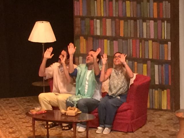 José Eugenio Hernández, Liván Albelo e Iseal fueron dirigidos por Gil René Rodríguez. (Foto Joselo Arroyo para Fundación Nacional para la Cultura Popular)