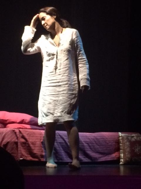 """Blanca Lissette Cruz protagonizó """"Bajo tierra"""", de Mary Ely Marrero-Pérez. (Foto Joselo Arroyo para Fundación Nacional para la Cultura Popular)"""